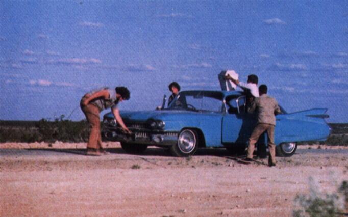Scene from the 1985 Classic--Fandango